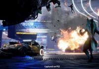 跑车姿势《摧毁明星赛》实机截屏 火苗发生爆炸场景刺激