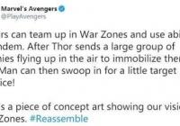 《漫威英雄复仇者联盟》五大军区方式概念图 雷神1不锈钢极致Combo