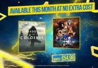 PS4港服3月会免游戏公布《旺达与巨像》和《索尼克力量》