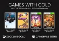 Xbox公布了12月黄金俱乐部共4部作品。