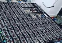拉斯维加斯矿主用78张3080的显卡进行开采,价值10万美元。