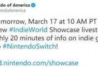 任天堂明日举办Indie World直面会 介绍最新独立游戏