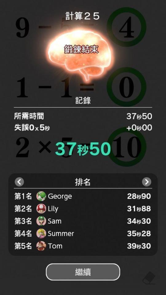 《NS脑部锻炼》确认将于7月1日推出中文版  脑部核磁共振价格 基金申购确认时间 多功能厅效果图 蓝手指模拟器 考研报名现场确认时间 2010年7月1日 电脑部分网页打不开 锻炼腹肌的最佳时间 2014年7月1日 pc玩家 第15张