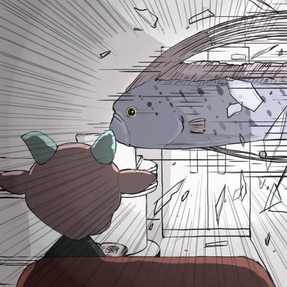 游戏玩家在《动森》钓皇带鱼穿模了 脑洞大开一开岛民吓坏  新装修的房子如何去味 林心如素颜逛街吓坏人 动画梦工厂小小岛民 现在三亚房子多少钱一平 巨型皇带鱼 超级游戏玩家 95平房子装修 小小岛民 货车干尸吓坏乘客 小小岛民俱乐部 第2张