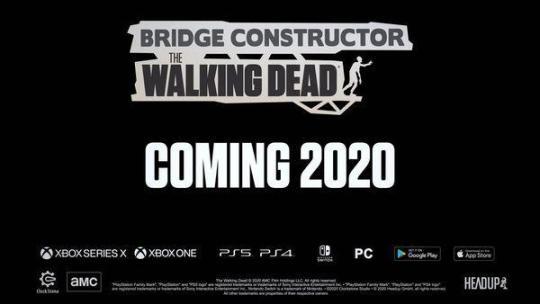 《桥梁建筑师:行尸之惧》将于2020年年之内开售  2020年4月黄道吉日一览表 2020年元旦调休吗 春运首日票开售 岚2020年底解散 美国开售人造鸡蛋 火车票几点开售 第4张