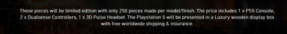 24K足金版PS5打开预订 那样的街机游戏机你买起吗  电脑游戏手柄驱动 景点门票预订 ibw24 24k纯金爱情 天天酷跑新版本宠物 word最新版本下载 佳能手柄 千足金称谓取消 梦见金色蟒蛇 迷你世界星球版本 第2张