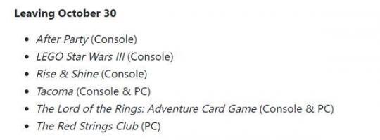 XGP在10月份宣布了第二批入库游戏。帝国时代3。山城零点  入库单样本 零点风暴 10月份国旗下的讲话 10月份去哪旅游好 山城棒棒军全集 帝国时代3之酋长 帝国时代3亚洲王朝中文版 帝国时代3游戏下载 三进山城全集 10月份汽车销量排行榜 第3张