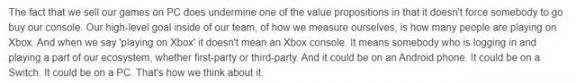 Xbox老板菲尔·斯潘塞:当你玩第一个游戏时,你会登录到PC Xbox,而不仅仅是控制台  火炬之光2控制台套装 登录163邮箱入口 龙腾世纪起源控制台 菲尔普斯比赛视频 风流老板俏秘书游戏 搜索引擎登录工具 莎菲尔 勇者之塔会员登录 测试你会怎样死去 当你沉睡时免费观看 第2张