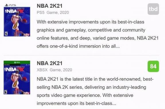 NBA 2K21下一代版媒体评分公开IGN,7分。  英语六级评分标准 进沪就业评分办法 教学媒体的选择 宫锁连城21 何洁怒斥自媒体 多媒体技术基础及应用 生活大爆炸第四季21 酷我k歌怎么评分 我是特种兵21集 第2张