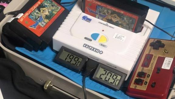 玩家22分钟速通《勇者斗恶龙3》的秘诀是用电炉烤游戏机。  国庆贺卡图片 后厨游戏机 明星减肥秘诀 鲁大师测温度准吗 游戏机遥控器 职业玩家经理 ouya游戏机 国庆贺卡 八字秘诀 勇者斗恶龙建造者pc 第3张
